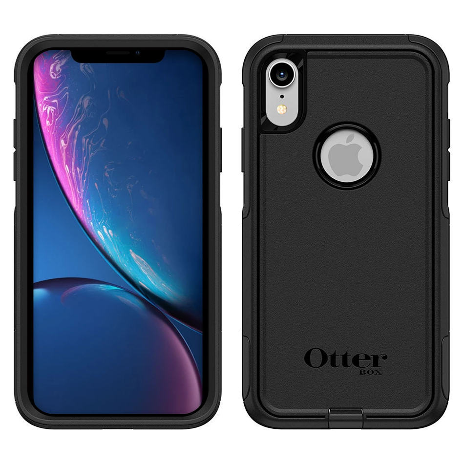 cheap for discount d5f65 6cc0c OtterBox Commuter Case for Apple iPhone Xr (Black)
